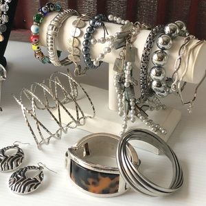Banana Republic Jewelry - Name Brand Jewelry Lot Vintage to Now GRUNGE GLAM
